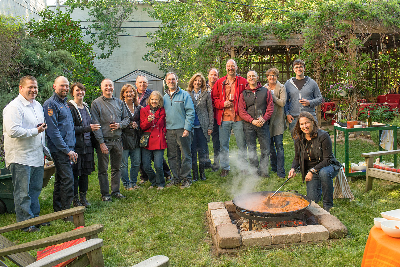Paella Cooking Classes Over An Open Campfire In Our